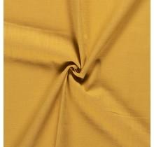 Leinen Ramie medium ockergelb 138 cm breit