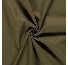 Leinen Ramie medium khaki grün 138 cm breit
