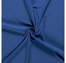 Crêpe Stoff königsblau 144 cm breit