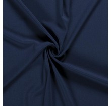 Crêpe Stoff indigoblau 144 cm breit