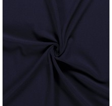 Crêpe Stoff navy 144 cm breit