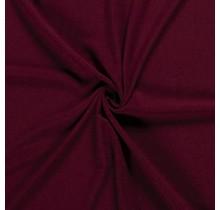Crêpe Stoff bordeauxrot 144 cm breit