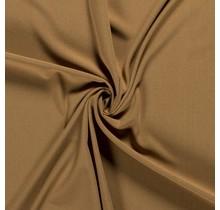 Crêpe Stoff ockergelb 144 cm breit