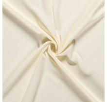 Crêpe Stoff wollweiss 144 cm breit