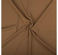 Crêpe Stoff kamel 144 cm breit