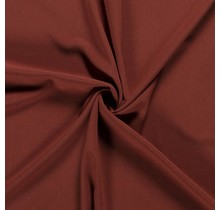 Crêpe Stoff rostrot 144 cm breit