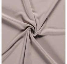 Crêpe Stoff beige 144 cm breit