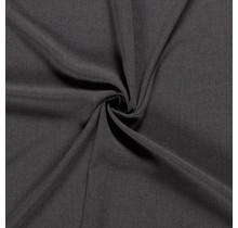 Crêpe Stoff dunkelgrau 144 cm breit