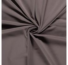 French Terry taupe braun 150 cm breit