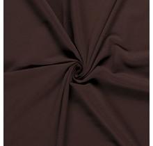 French Terry dunkelbraun 150 cm breit