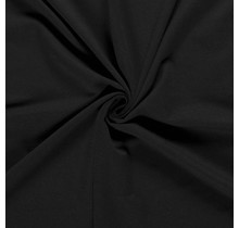 French Terry schwarz 150 cm breit