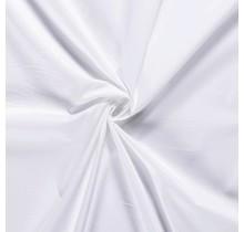 Baumwoll Popeline Stoff Stretch weiss 144 cm breit