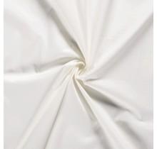 Baumwoll Popeline Stoff Stretch wollweiss 144 cm breit