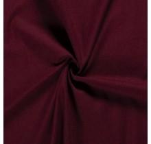 Baumwoll-köper Stretch bordeauxrot 135 cm breit