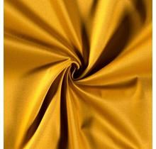 Baumwoll-köper Stretch ockergelb 135 cm breit