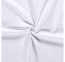 Baumwoll-köper Stretch weiss 135 cm breit