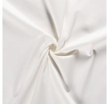 Baumwoll-köper Stretch wollweiss 135 cm breit