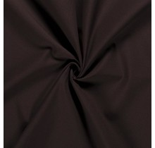 Baumwoll-köper Stretch dunkelbraun 135 cm breit