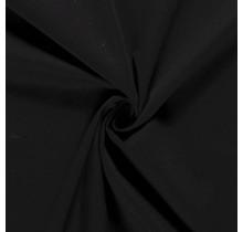 Baumwoll-köper Stretch schwarz 135 cm breit