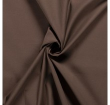 Baumwoll-köper Stretch braun 135 cm breit