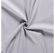 Baumwoll-köper Stretch hellgrau 135 cm breit