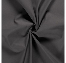 Baumwoll-Köper taupe grau 146 cm breit