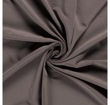 Polyester Viskose stretch taupe braun 144 cm breit