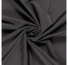 Polyester Viskose stretch dunkelgrau 144 cm breit