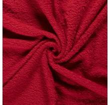 Frottee rot 140 cm breit