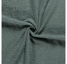 Frottee dunkel mintgrün 140 cm breit