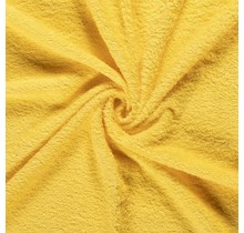 Frottee gelb 140 cm breit