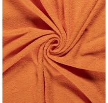 Frottee orange 140 cm breit