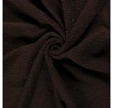 Frottee dunkelbraun 140 cm breit