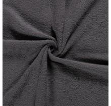 Frottee dunkelgrau 140 cm breit