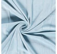 Nicki Stoff Uni babyblau 147 cm breit