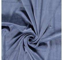 Nicki Stoff Uni indigoblau 147 cm breit