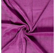 Nicki Stoff Uni magenta 147 cm breit