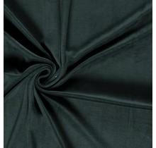 Nicki Stoff Uni dunkelgrün 147 cm breit