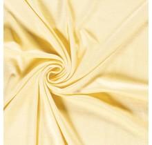 Nicki Stoff Uni deluxe gelb 147 cm breit