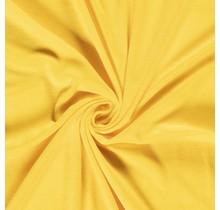 Nicki Stoff Uni gelb 147 cm breit