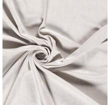 Nicki Stoff Uni hellgrau 147 cm breit