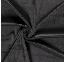 Nicki Stoff Uni dunkelgrau 147 cm breit