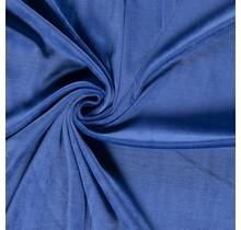 Nicki Stoff Uni königsblau 147 cm breit