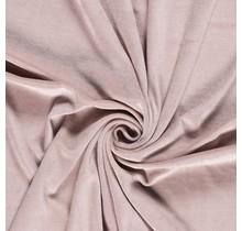 Nicki Stoff Uni altrosa 147 cm breit