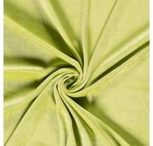 Nicki Stoff Uni lindgrün 147 cm breit