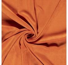 Nicki Stoff Uni orange 147 cm breit