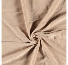 Nicki Stoff Uni lachsfarben 147 cm breit
