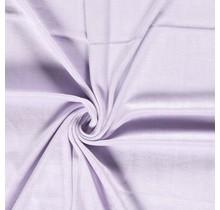 Nicki Stoff Uni lavendel 147 cm breit