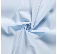 Popeline Stoff Uni babyblau 144 cm breit