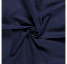 Popeline Stoff Uni navy 144 cm breit